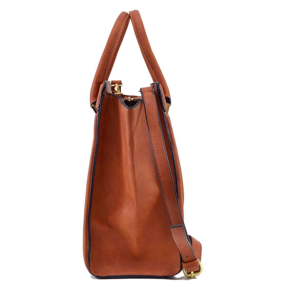 Dasein Womens Handbags Satchels Tote Bag Bags Winged