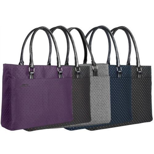 Women's Shoulder Bag Nylon Briefcase Stylish Handbag Laptop