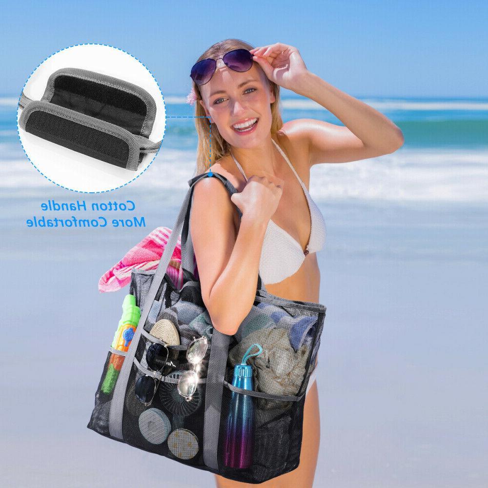 XXL Beach Tote Swimming Shopping Bag Sand Away