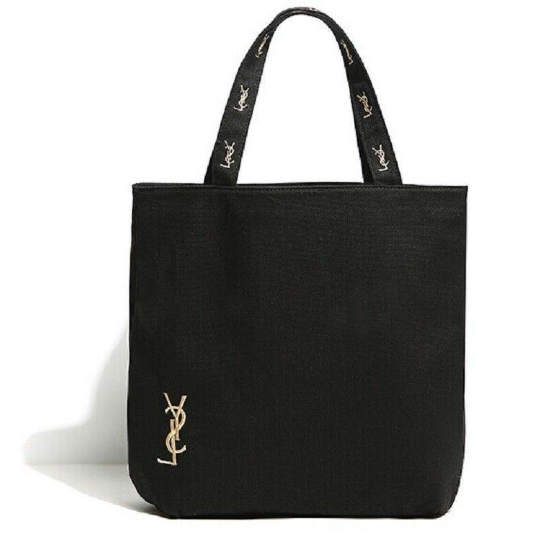 yves saint laurent shopping tote bag canvas