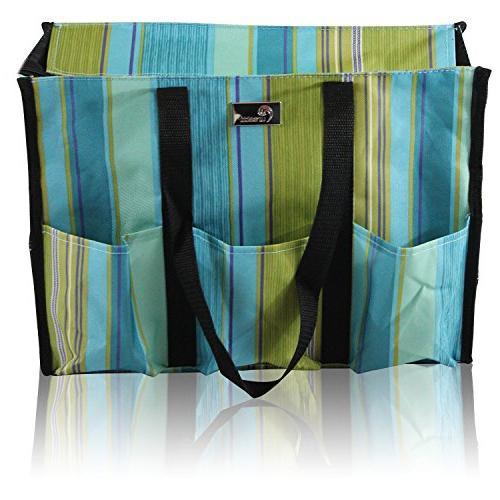 zip organizing utility tote bag
