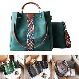 Lady Women Leather Handbag Shoulder Messenger Satchel Tote C