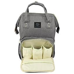 Baby Diaper Bag Large Capacity Mommy Backpack Baby Nappy Tot
