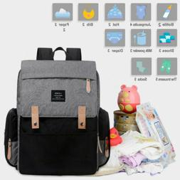 LAND Diaper Mummy Bags Baby Care Nappy Backpack Large Multif