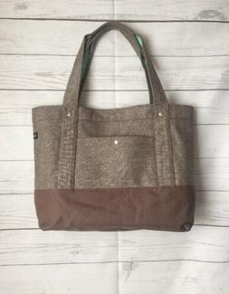 Everest Laptop and Tablet Tote Bag - Brown Mint