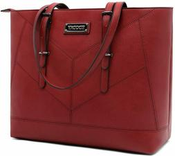 Laptop Bag for Women,15.6 Inch Business Laptop Tote,EDODAY L