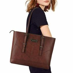 Laptop Bag for Women, Stylish Tote Bag,Casual Work Tote for