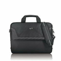 Solo Flatiron 16 Inch Laptop Slim Brief, Black