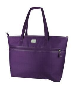 Protege Laptop Travel Tote, Purple