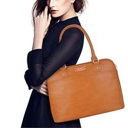 EDODAY Laptop Tote Bag,15.6 Inch Laptop Bag for Women Classi