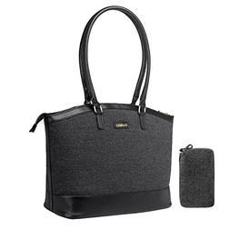UtoteBag Laptop Tote Bag,Women 15.6 inch Laptop Shoulder Bag