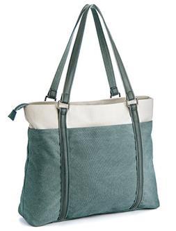 Laptop Tote Bag, GRM Canvas Shoulder Bag, Carrying Handbag f