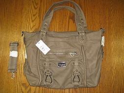 Scarleton Large Buckle Shoulder Tote Bag H139914 - Dark Khak