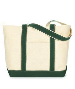 UltraClub Large Canvas Boat Tote Bag 8871