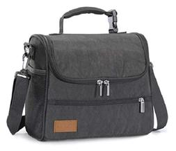 Large Capacity Lunch Insulated Bag for Men/Women Lunch Box C