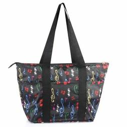 Large Insulated Lunch Tote Bag Picnic Travel Zipper Carry Ba
