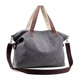 Sanxiner Large Top Handle Handbag for Women Tote Bag Canvas