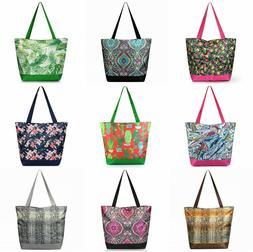 Large Tote Bag Shoulder Handbag Purse Reusable Grocery Shopp