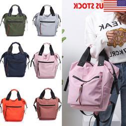 Large Womens Student Fashion Shoulder Handbag Backpack Totes