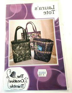 Laura's Tote Bag Sewing Pattern The Creative Needle