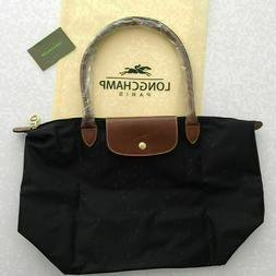 le pliage black tote bag large l