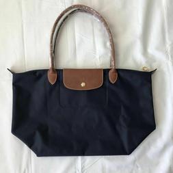 Longchamp Le Pliage Large 1899 Nylon Tote Bag - Large, Navy