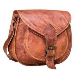Leather Messenger Women Bag Handbag Shoulder Tote Purse Satc