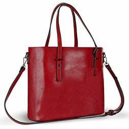 Leather Tote Bag for Women Large Handbag Shoulder Bag for Wo