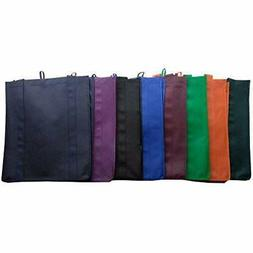 "LIHI Reusable Grocery Bags Bag Large "" Heavy Duty Nonwoven F"