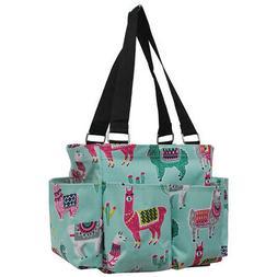 Llama NGIL® Small Zippered Caddy Organizer Tote Bag