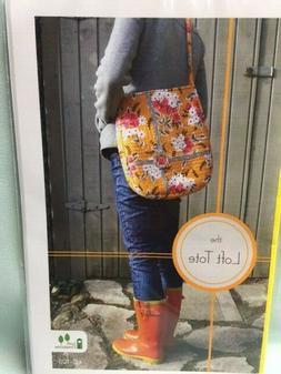 "LOFT TOTE - pattern Loft Creations NEW! tote bag purse 11"" x"