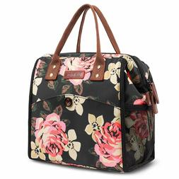 LOKASS Insulated Lunch Bag Cooler Food Bag Lunch Box Tote Ba