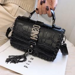 Louis Brand Tassel Fashion Women <font><b>Bag</b></font> Lea