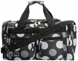 Rockland Luggage 19 Inch Tote Bag Big Black Dot One Size