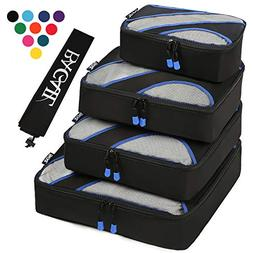 Bagail Travel Luggage Packing Organizers with Laundry Bag Bl