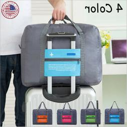 Luggage Storage Bag Travel Duffel Carry-on Waterproof Tote B
