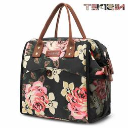 LOKASS Lunch Bag Cooler Food Insulated Bag Lunch Box Tote Ba
