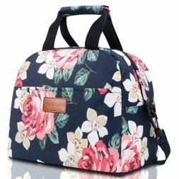 BALORAY Lunch Bag for Women with Shoulder Strap Insulated Lu