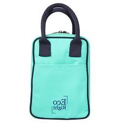 EcoRight Lunch Tote Bag Reusable Cotton Canvas EcoFriendly I