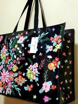 Vera Bradley MARKET TOTE BAG FLAMINGO FIESTA Reusable Gift W