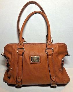 Scarleton Medium Belt Accent Tote Bag H126425 - Camel