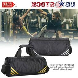 Men's Canvas Travel Shoulder Tote Bag Duffle Luggage Sport G