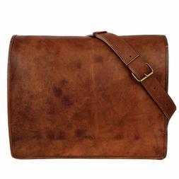 Men's Genuine Leather Tote Bag Handbags Satchel Cowhide Shou