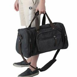 Mens Holdall Duffel Bag Tote Travel Weekend Overnight Sports