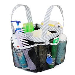 Haundry Mesh Shower Caddy Tote, Large College Dorm Bathroom