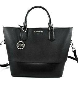 Michael Kors Trista Large Drawstring Tote Leather Bag Luggag
