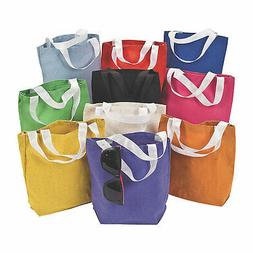Mini Canvas Tote Bag Assortment - Apparel Accessories - 50 P