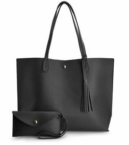 Minimalist Clean Cut Pebbled Faux Leather Tote Womens Should