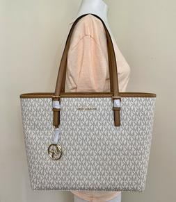 mk signature jet set travel medium carryall