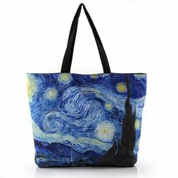 Modern Tote Bag/Handbag Inspired by Artist Van Gogh's Painti